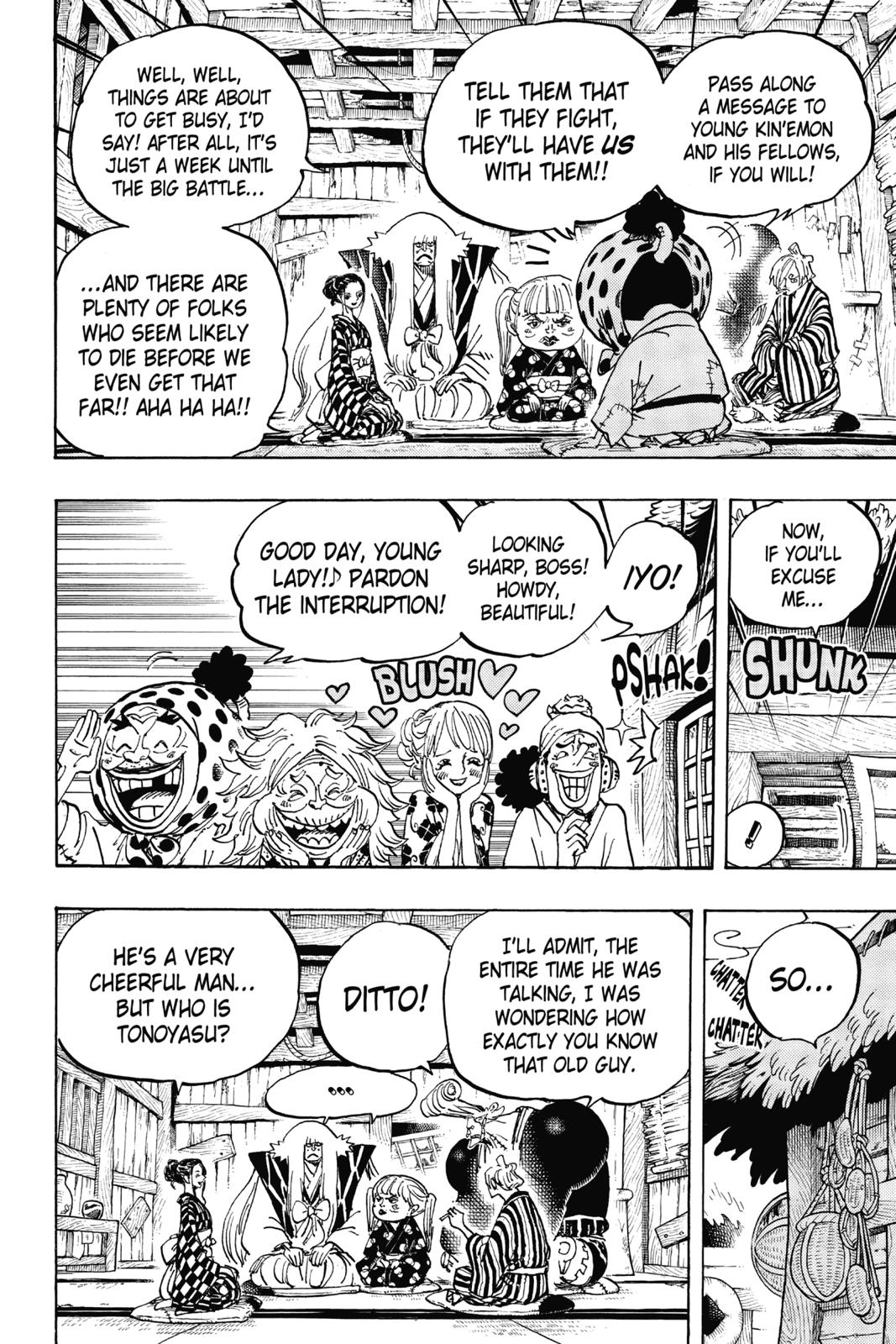 One Piece, Chapter 940 image 006