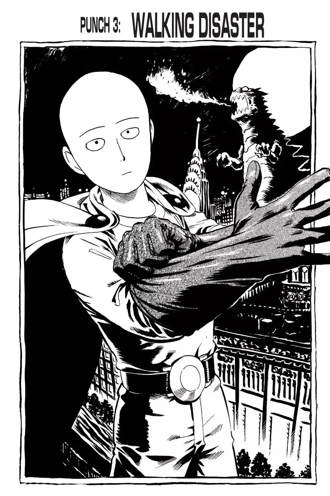One Punch Man, Chapter Onepunch-Man 3 image 001