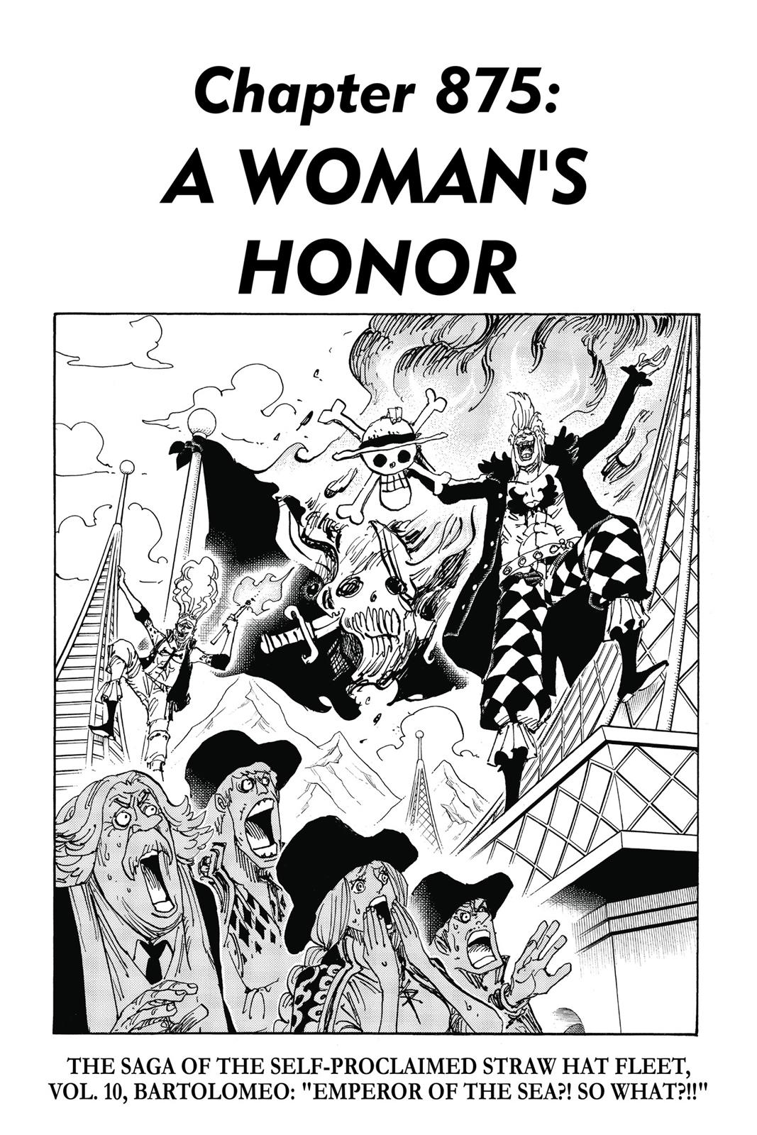 One Piece, Chapter 875 image 001