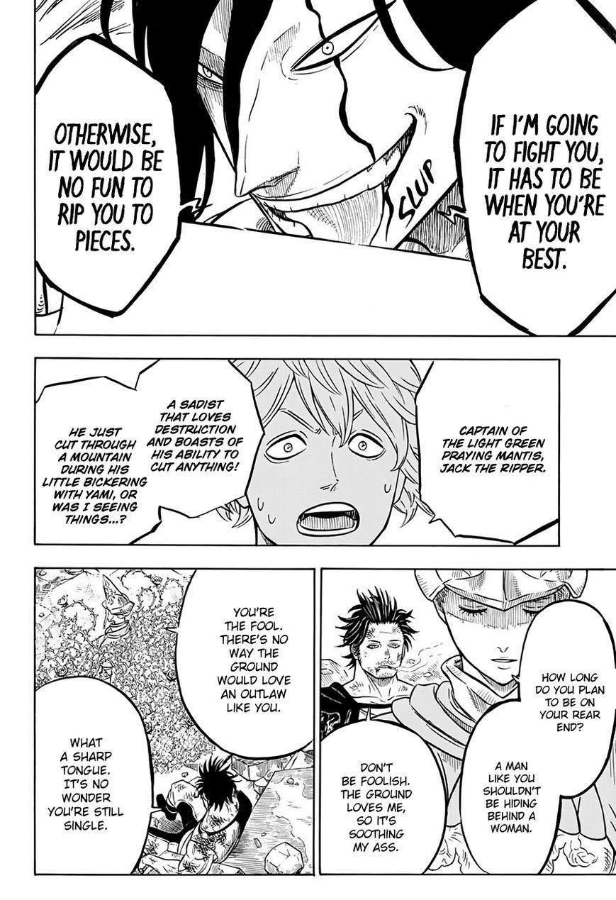 Black Clover, Chapter 52 Those Without Mana image 005