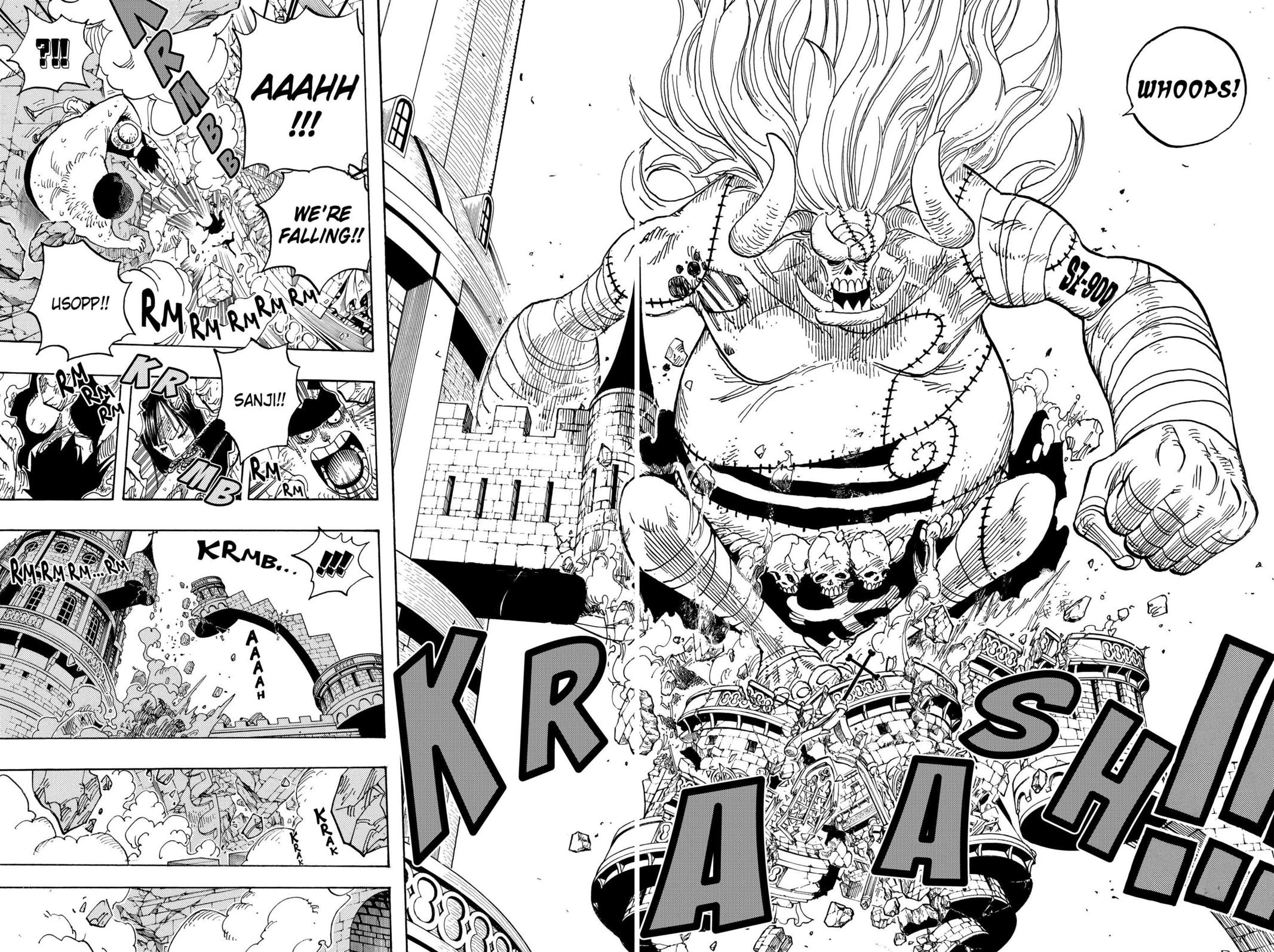 One Piece, Chapter 460 image 022