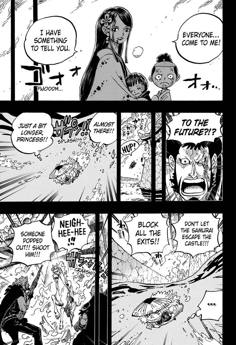 One Piece, Chapter 973 image 009