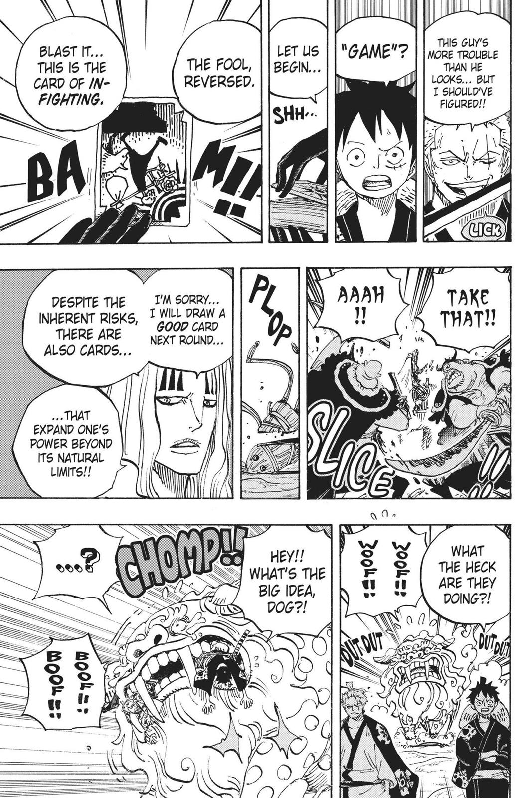 One Piece, Chapter 913 image 008