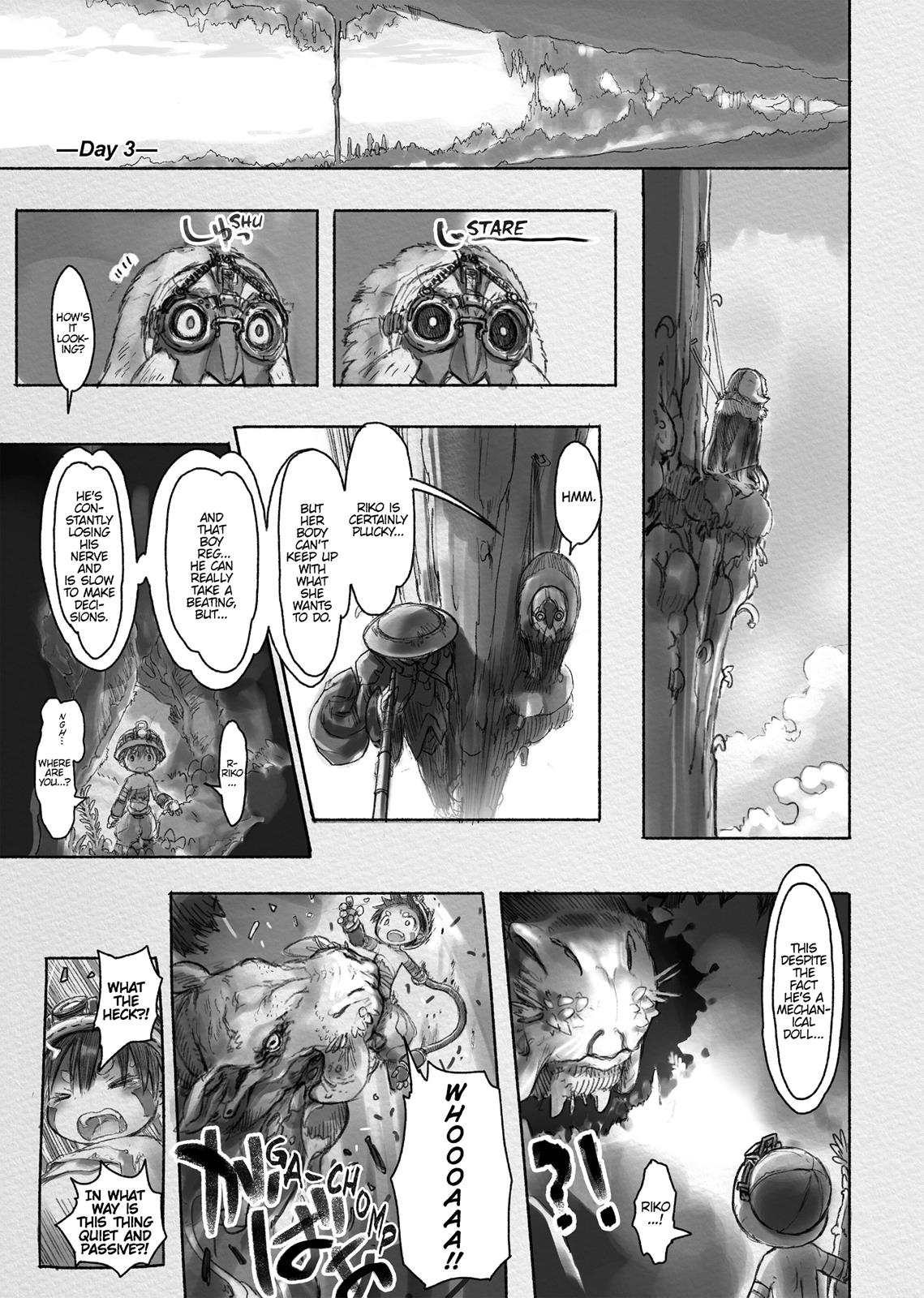 Made In Abyss, Chapter Hello,Abyss 17 image 009