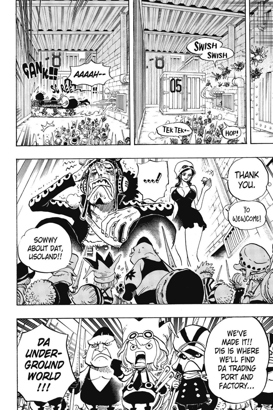One Piece, Chapter 732 image 021