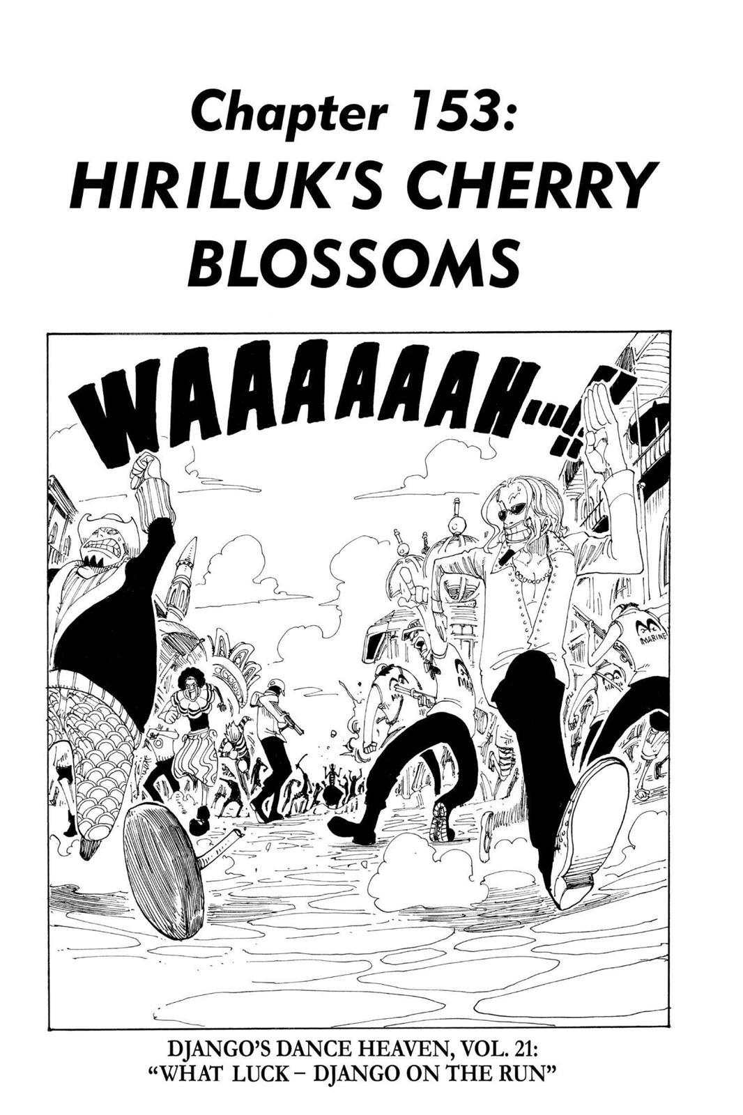 One Piece, Chapter 153 image 001