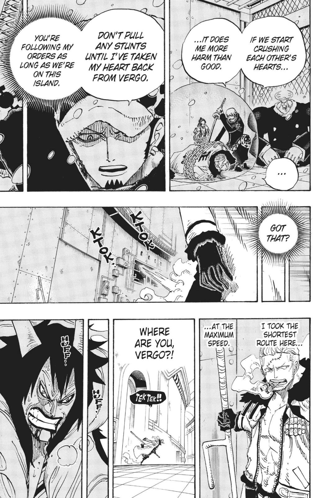One Piece, Chapter 681 image 003