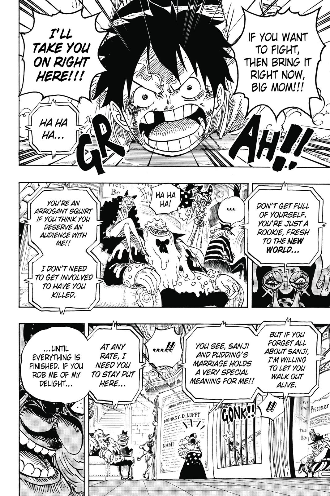 One Piece, Chapter 847 image 010