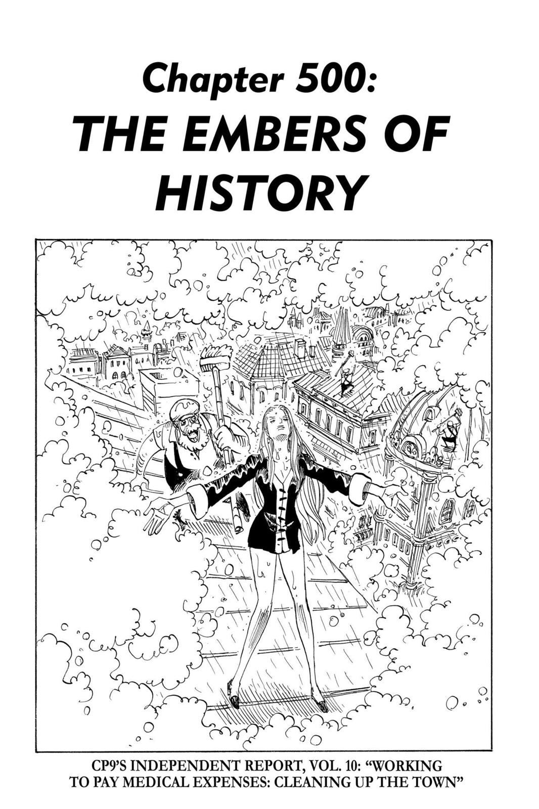 One Piece, Chapter 500 image 001