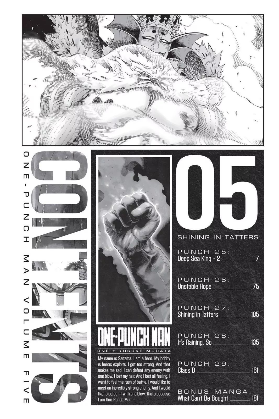 One Punch Man, Chapter Onepunch-Man 25 image 007