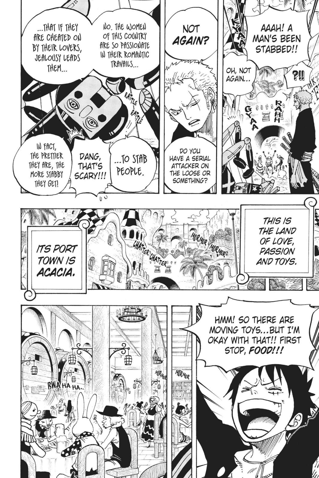 One Piece, Chapter 701 image 018