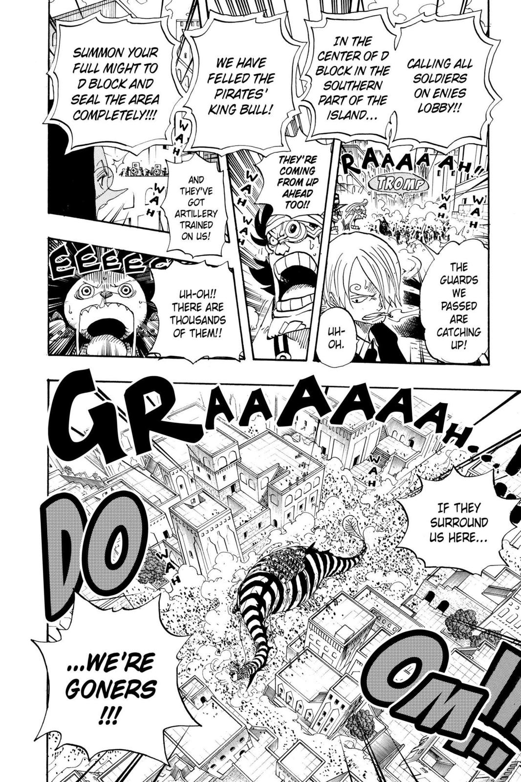 One Piece, Chapter 384 image 016