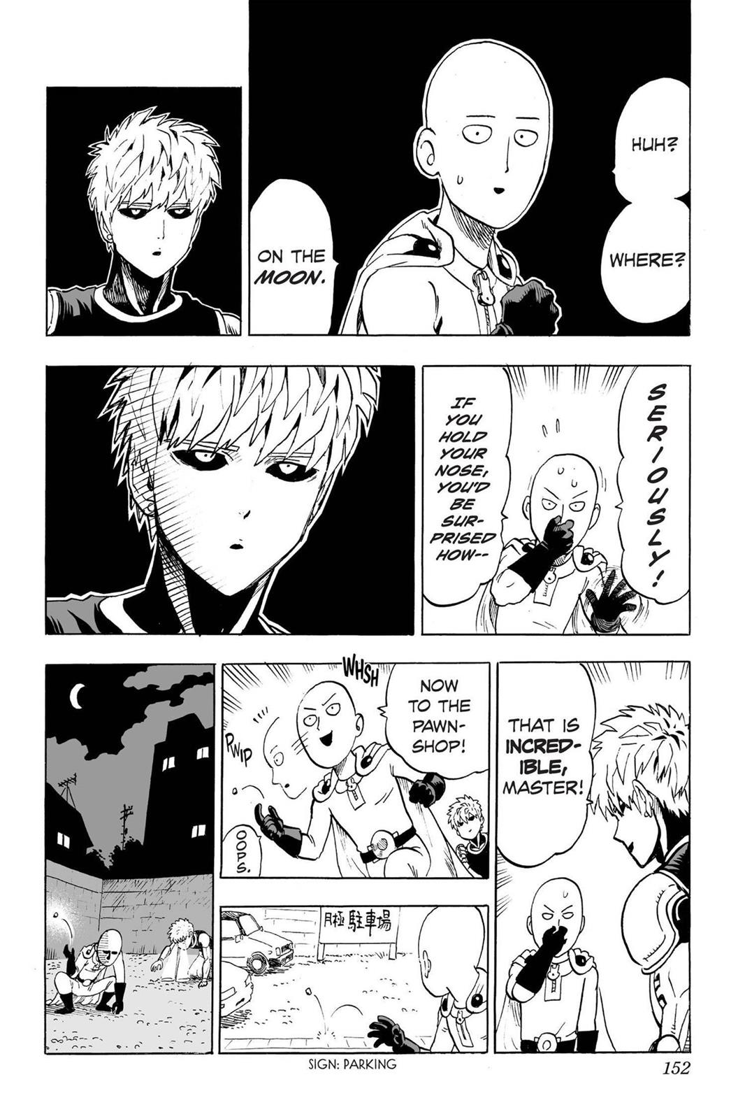 One Punch Man, Chapter Onepunch-Man 37.5 image 002