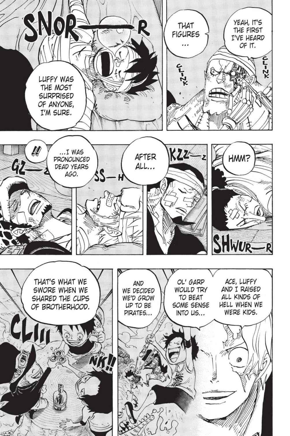 One Piece, Chapter 794 image 003