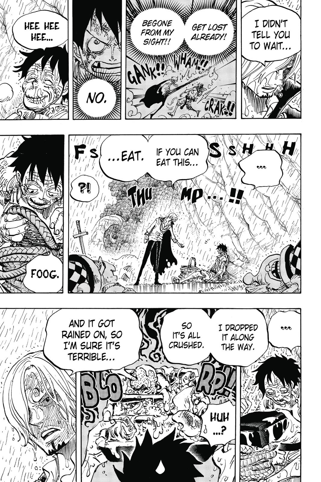 One Piece, Chapter 856 image 009