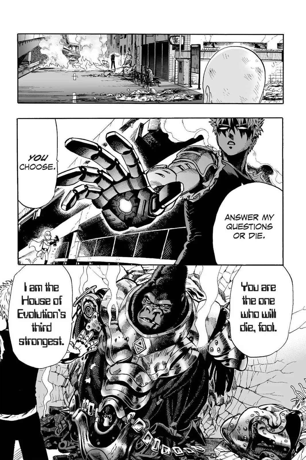 One Punch Man, Chapter Onepunch-Man 8 image 022