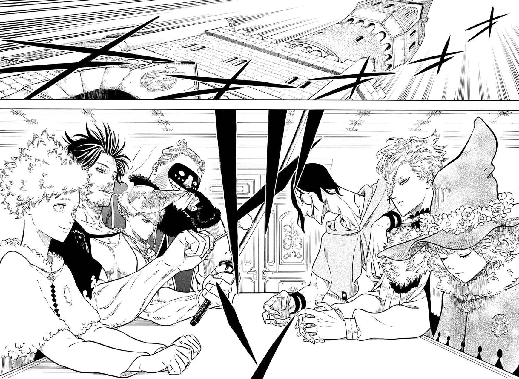 Black Clover, Chapter 54 A meeting of the magic knight captains image 007