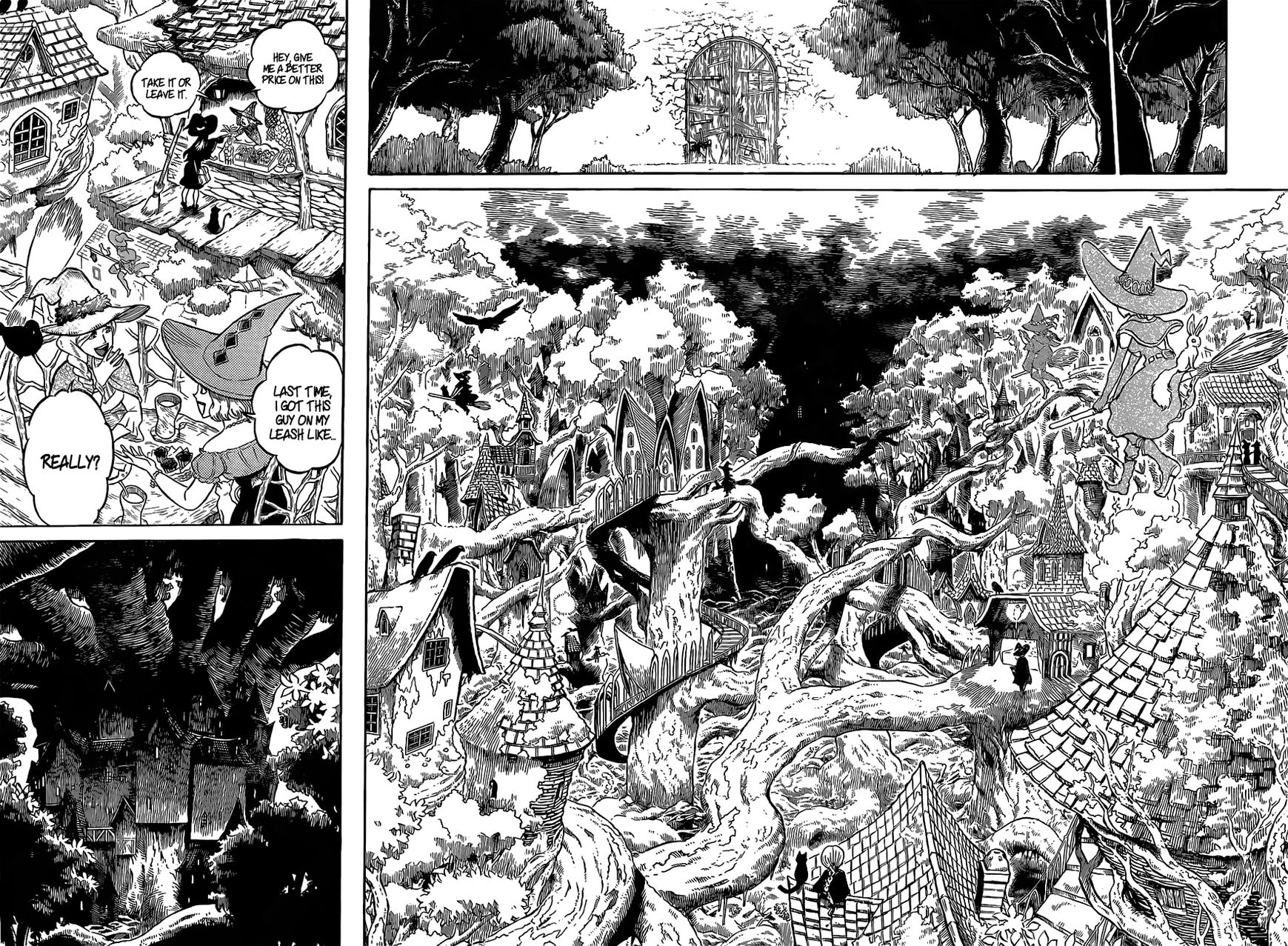 Black Clover, Chapter 82 The Witch's Forest image 013