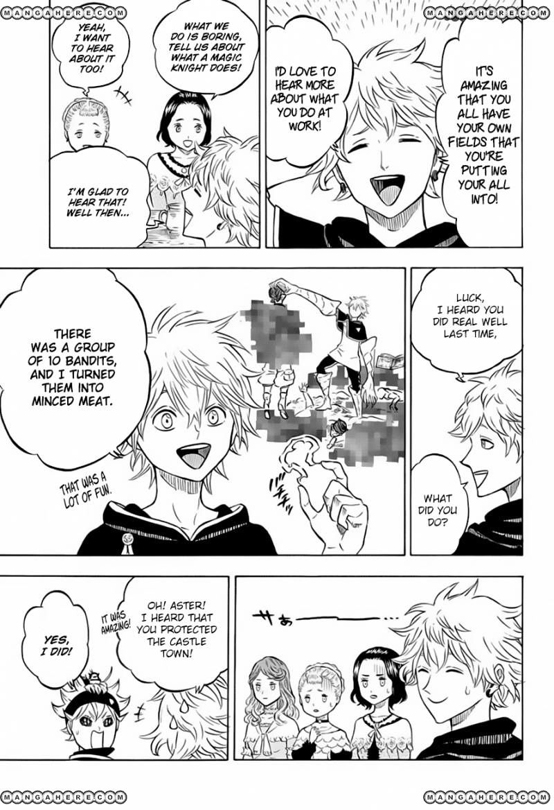 Black Clover, Chapter 38 The Person in My Heart image 005