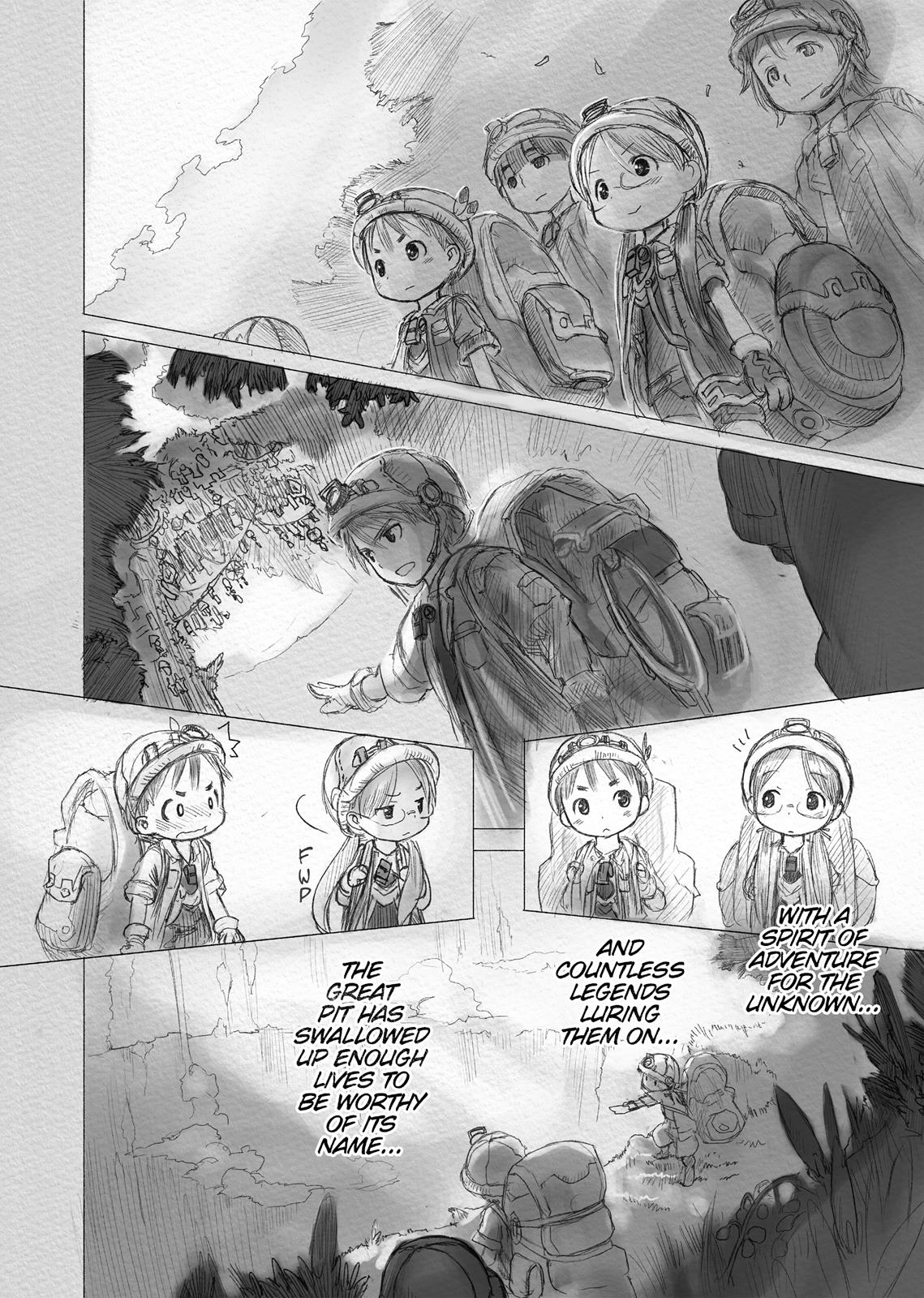 Made In Abyss, Chapter Hello,Abyss 1 image 033