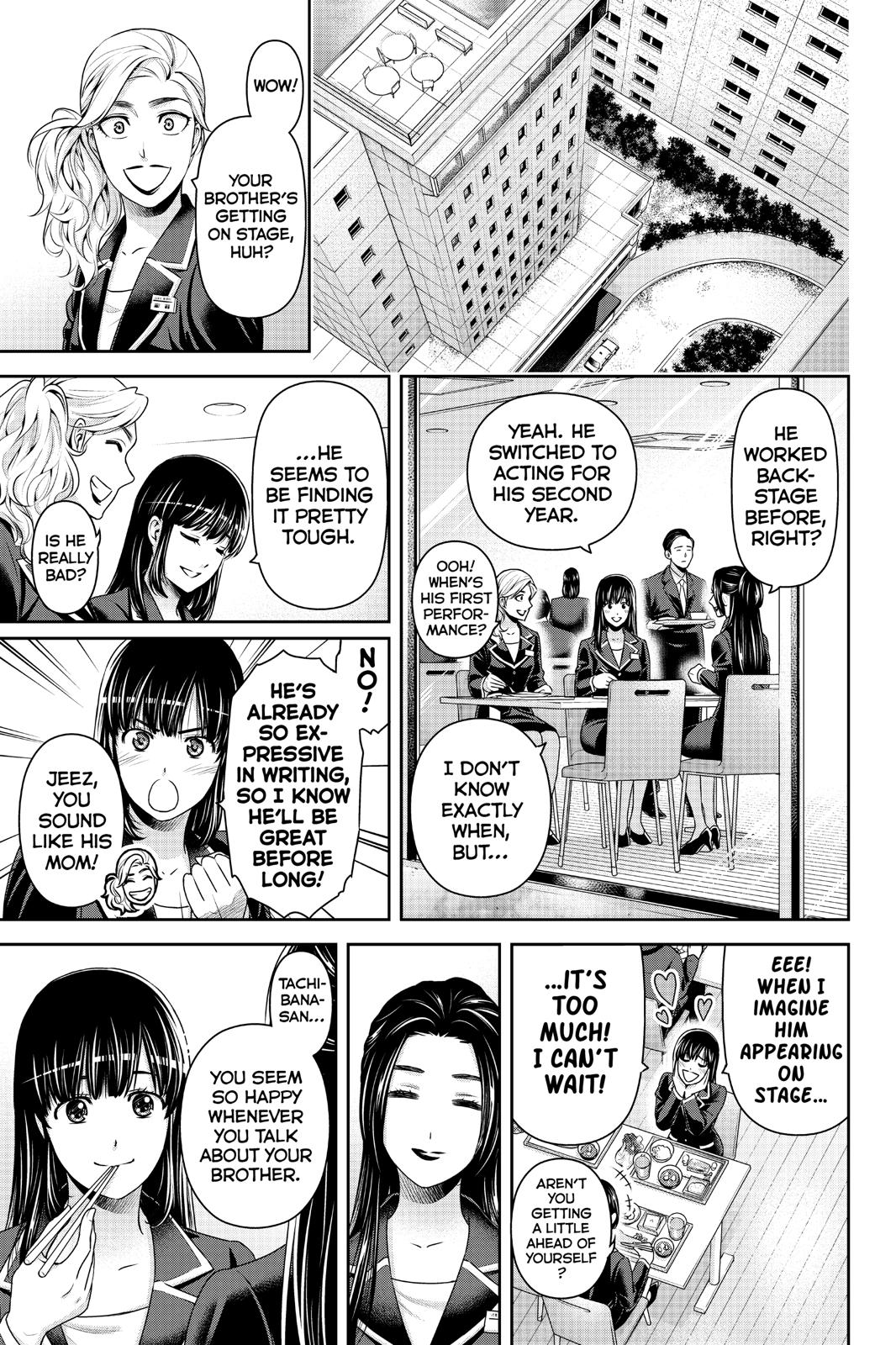 Domestic Na Kanojo, Chapter 231 image 015