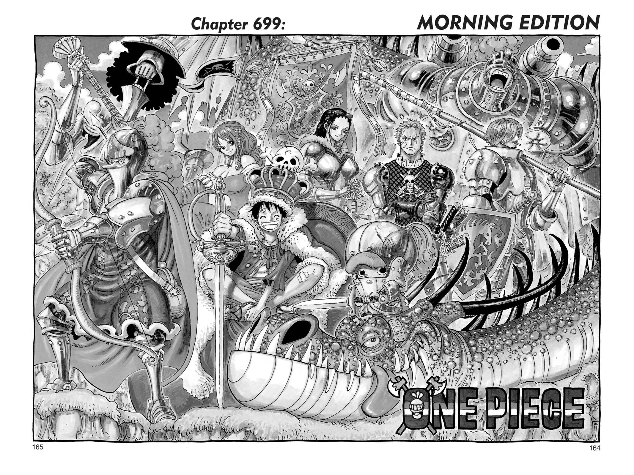 One Piece, Chapter 699 image 001