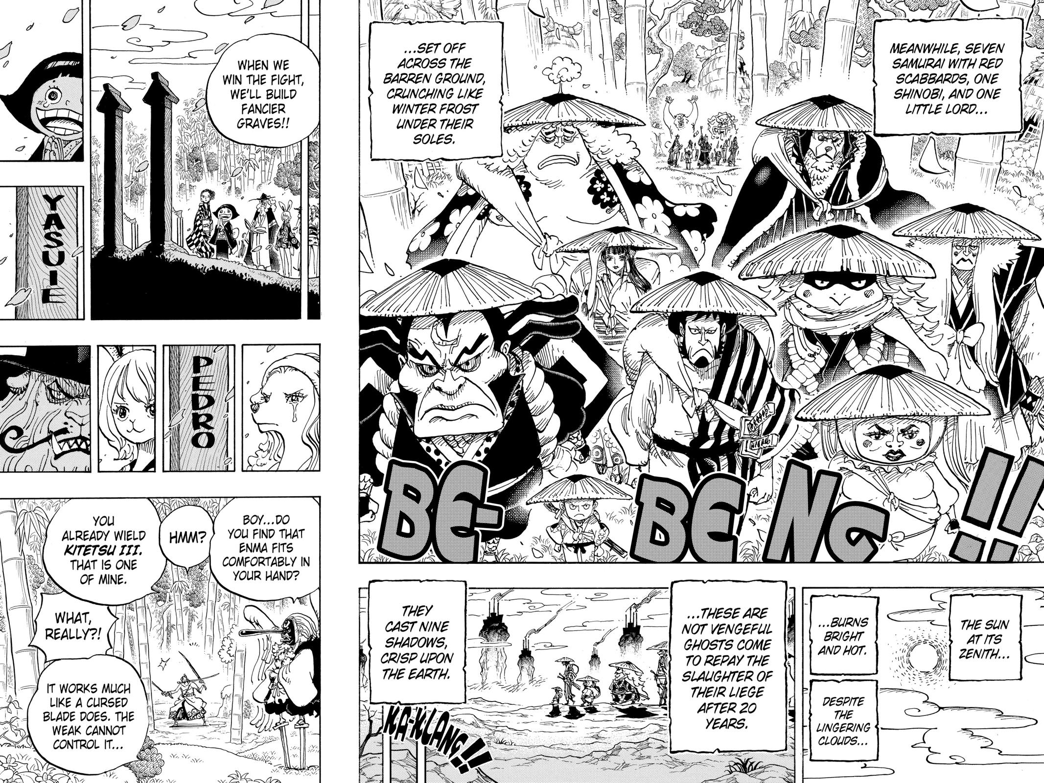 One Piece, Chapter 955 image 014