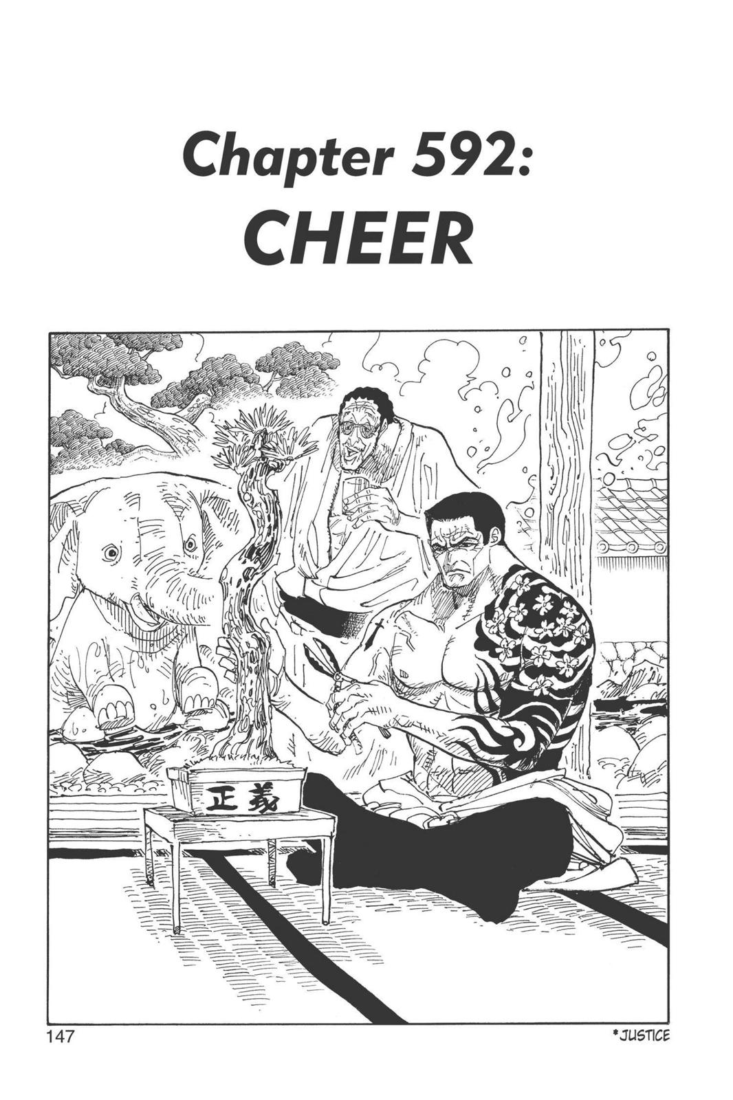 One Piece, Chapter 592 image 001