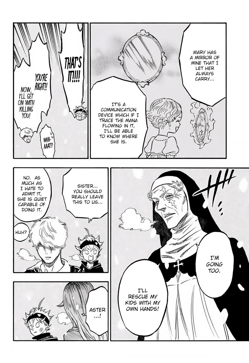 Black Clover, Chapter 40 The Snowy Chase image 009