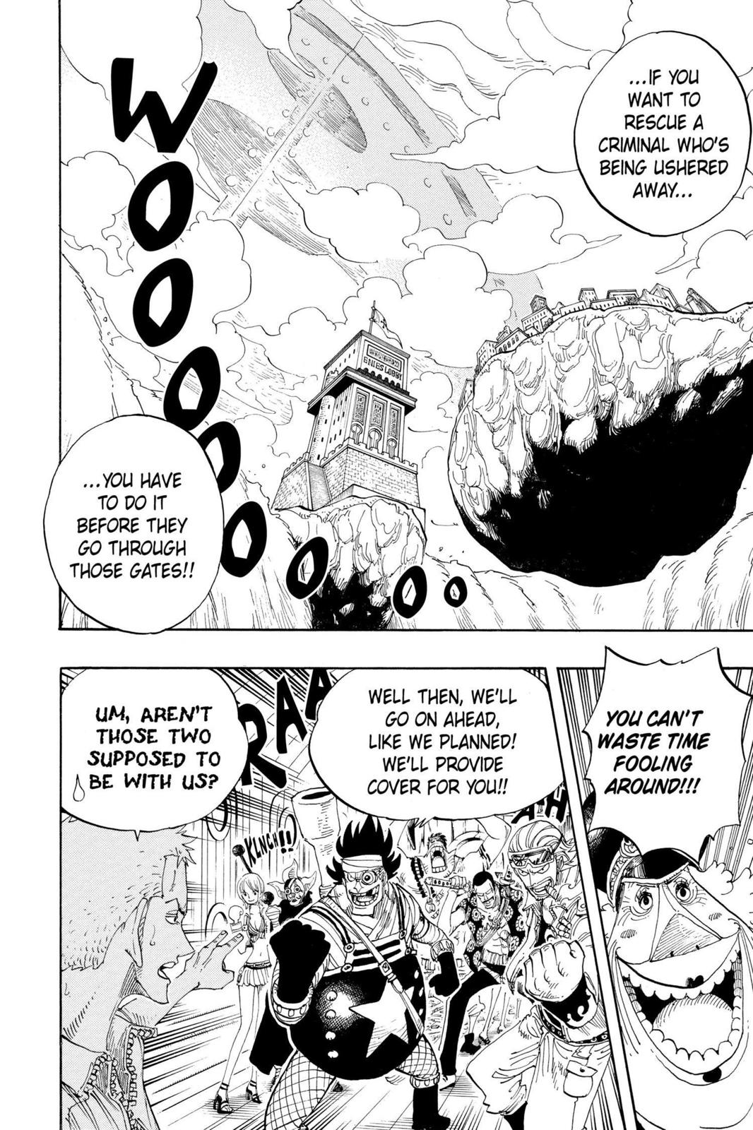 One Piece, Chapter 376 image 009