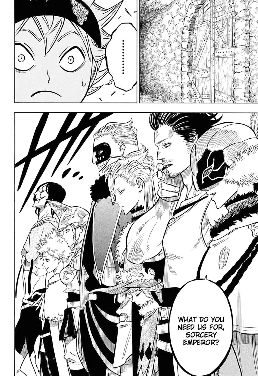 Black Clover, Chapter 54 A meeting of the magic knight captains image 015