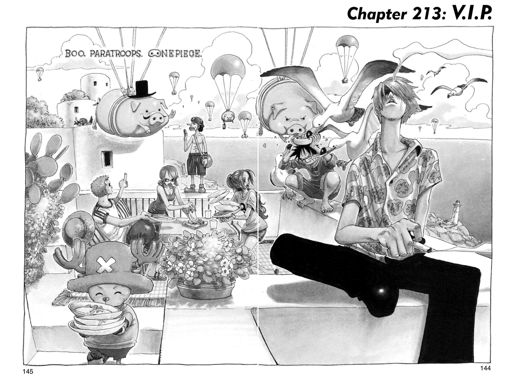 One Piece, Chapter 213 image 001