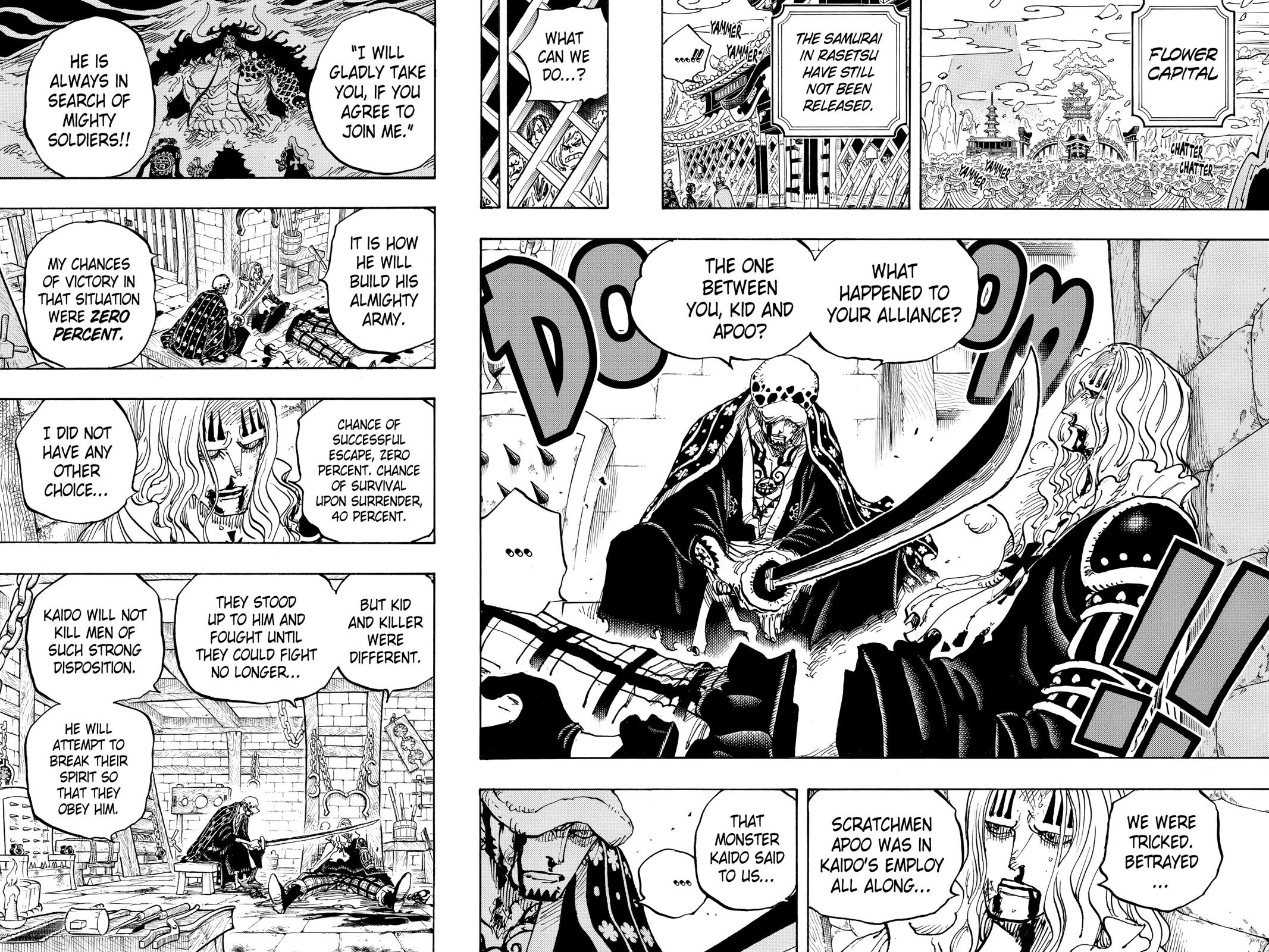 One Piece, Chapter 954 image 010