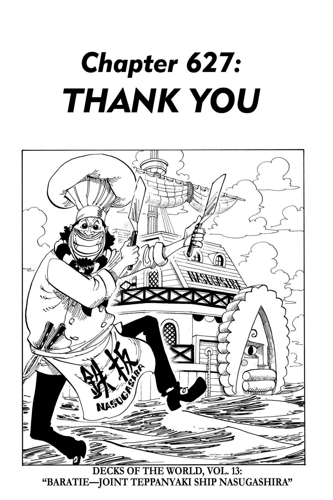 One Piece, Chapter 627 image 007