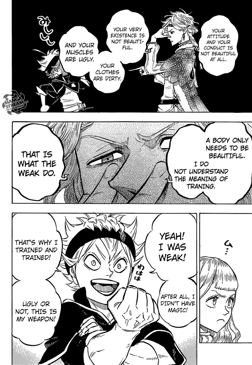 Black Clover, Chapter 116 Coral Peacock's Captain image 005