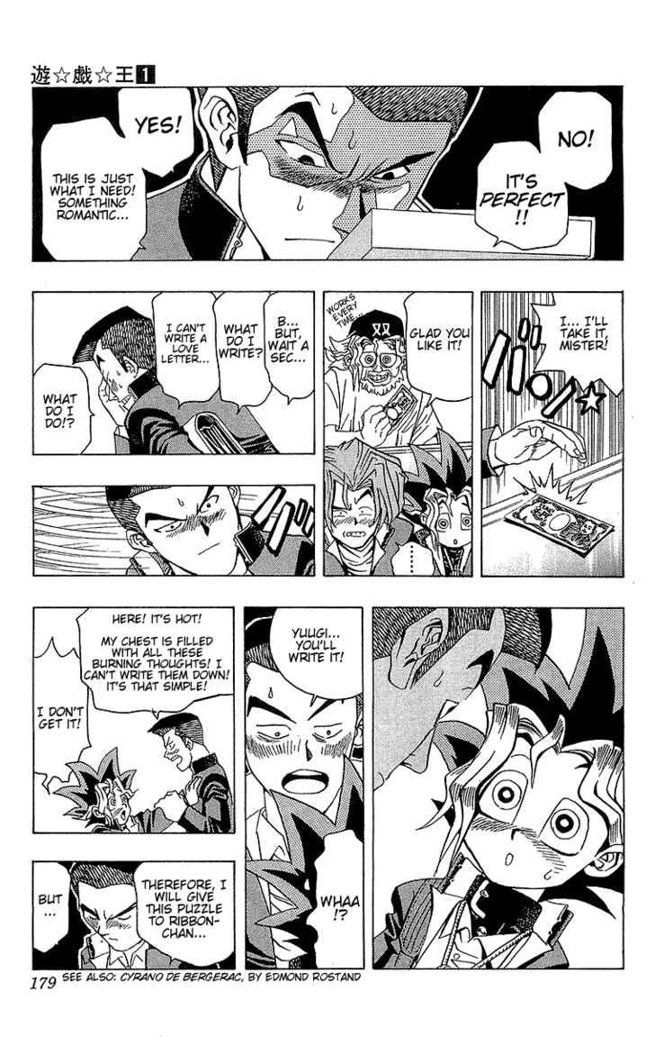 Yu Gi Oh, Chapter Vol.01 Ch.007 - The True Face image 008