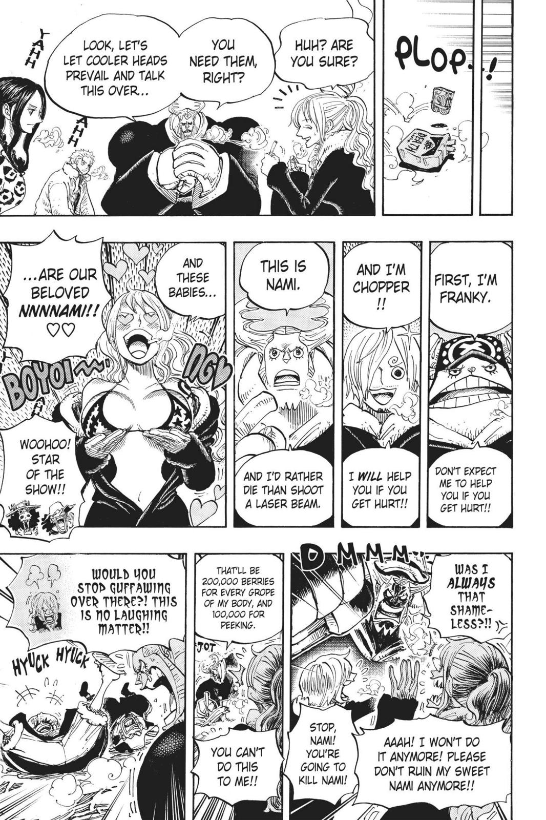 One Piece, Chapter 663 image 015