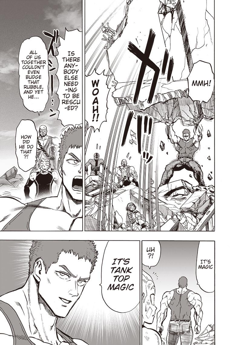One Punch Man, Chapter One-Punch Man 134.3 image 009