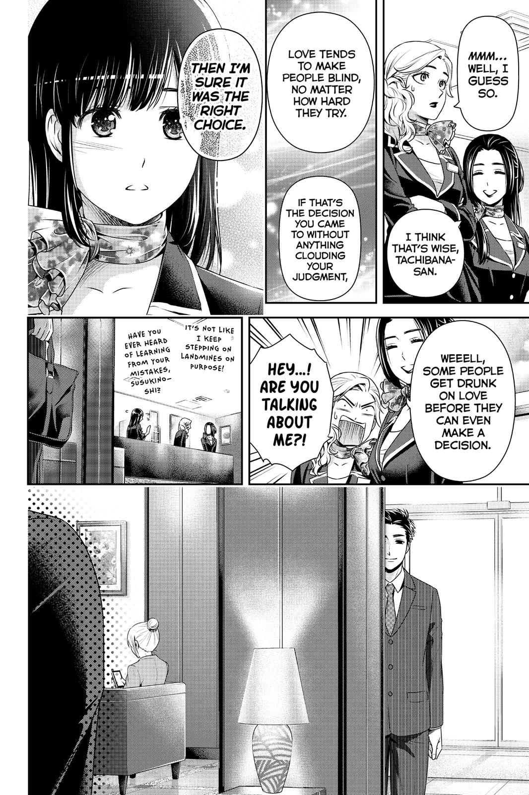 Domestic Na Kanojo, Chapter 175 image 011