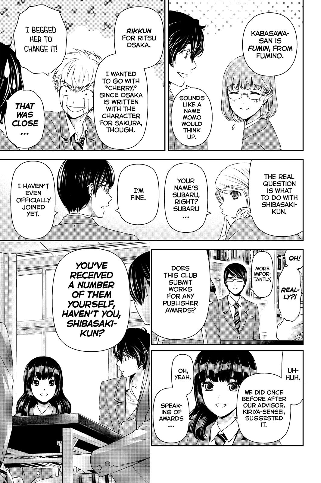 Domestic Na Kanojo, Chapter 74 image 007