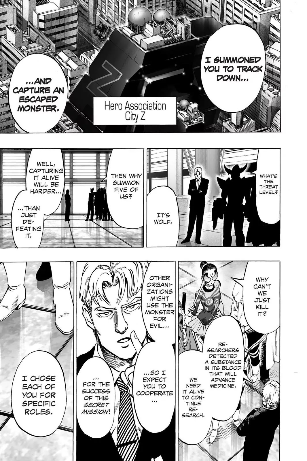 One Punch Man, Chapter Onepunch-Man 61.5 image 006