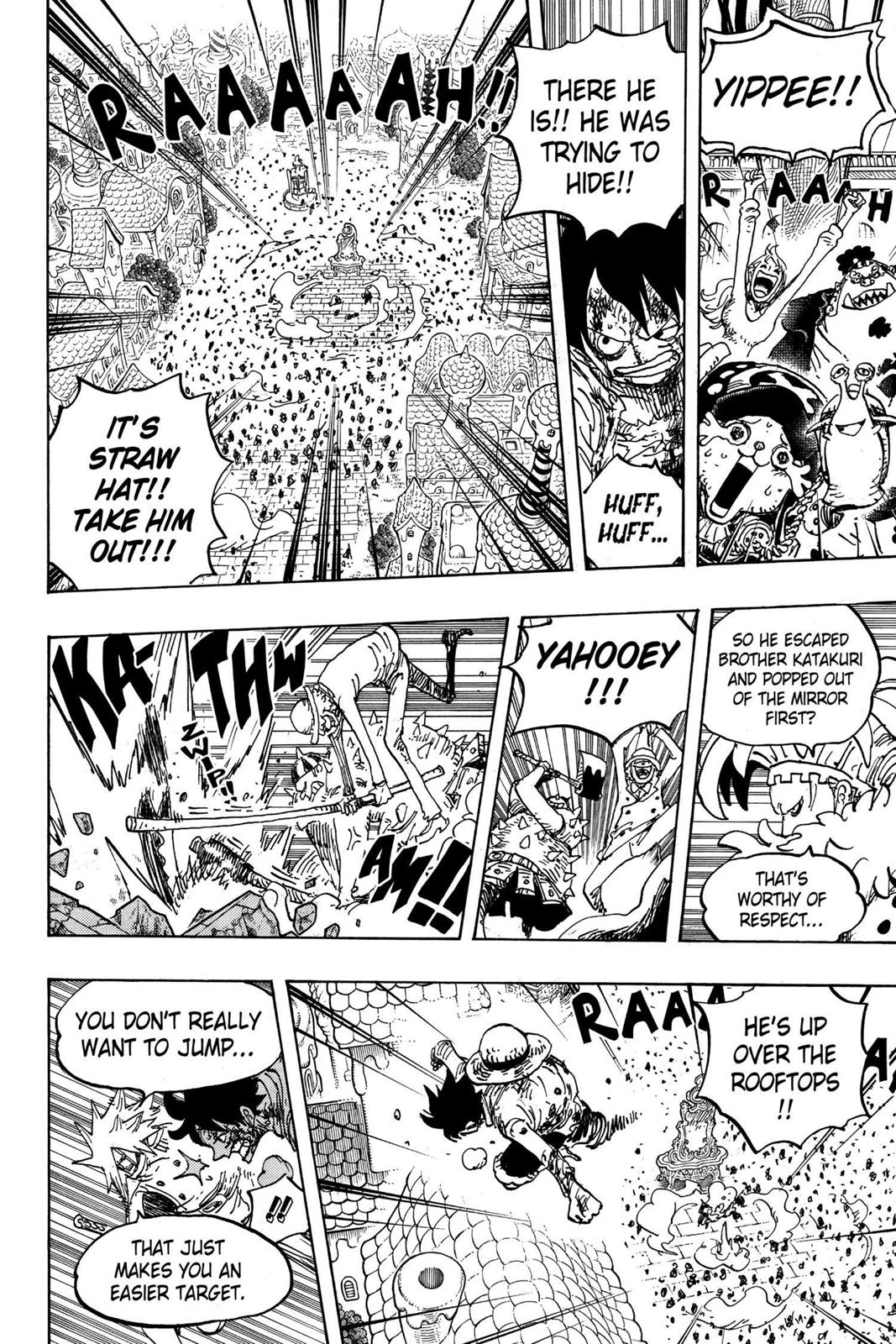 One Piece, Chapter 897 image 009