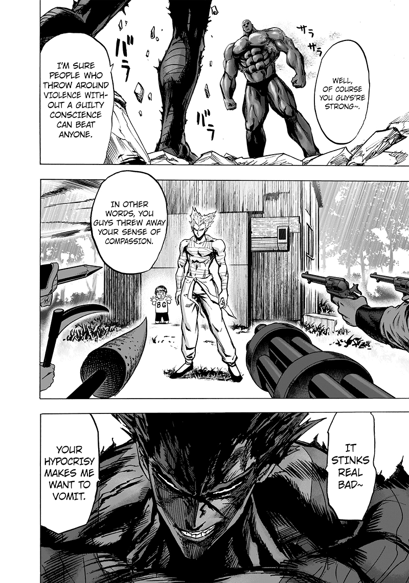 One Punch Man, Chapter 126.2 image 023