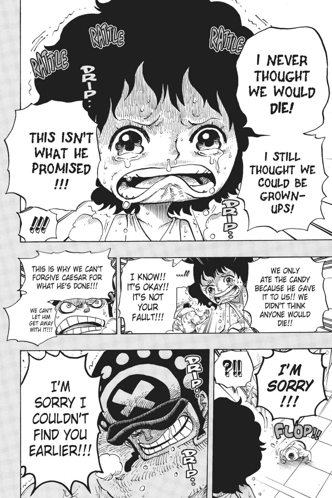 One Piece, Chapter 688 image 012