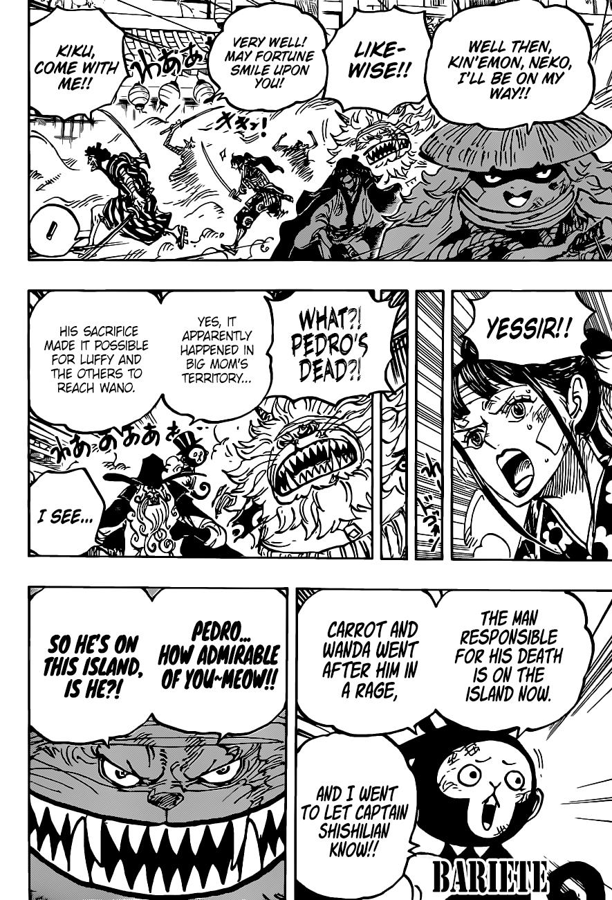 One Piece, Chapter 1012 image 005