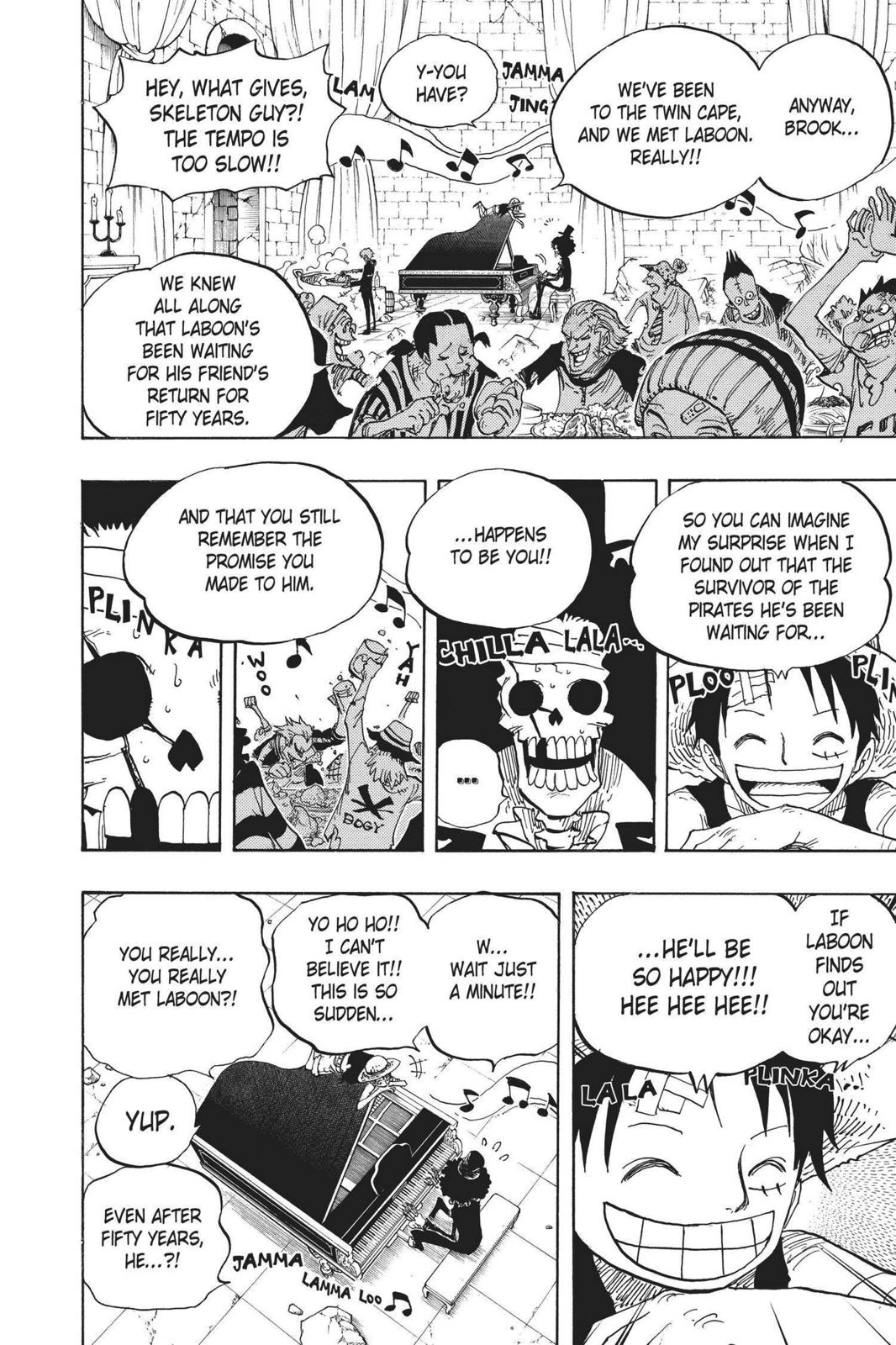 One Piece, Chapter 486 image 016