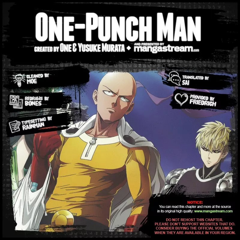 One Punch Man, Chapter Onepunch-Man 66 image 002