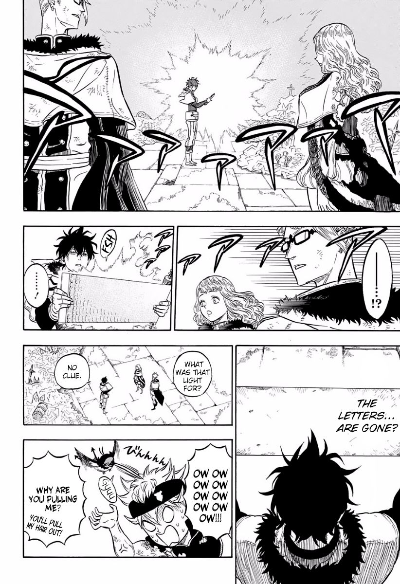 Black Clover, Chapter 18 In the Depths of The Treasure Room image 007