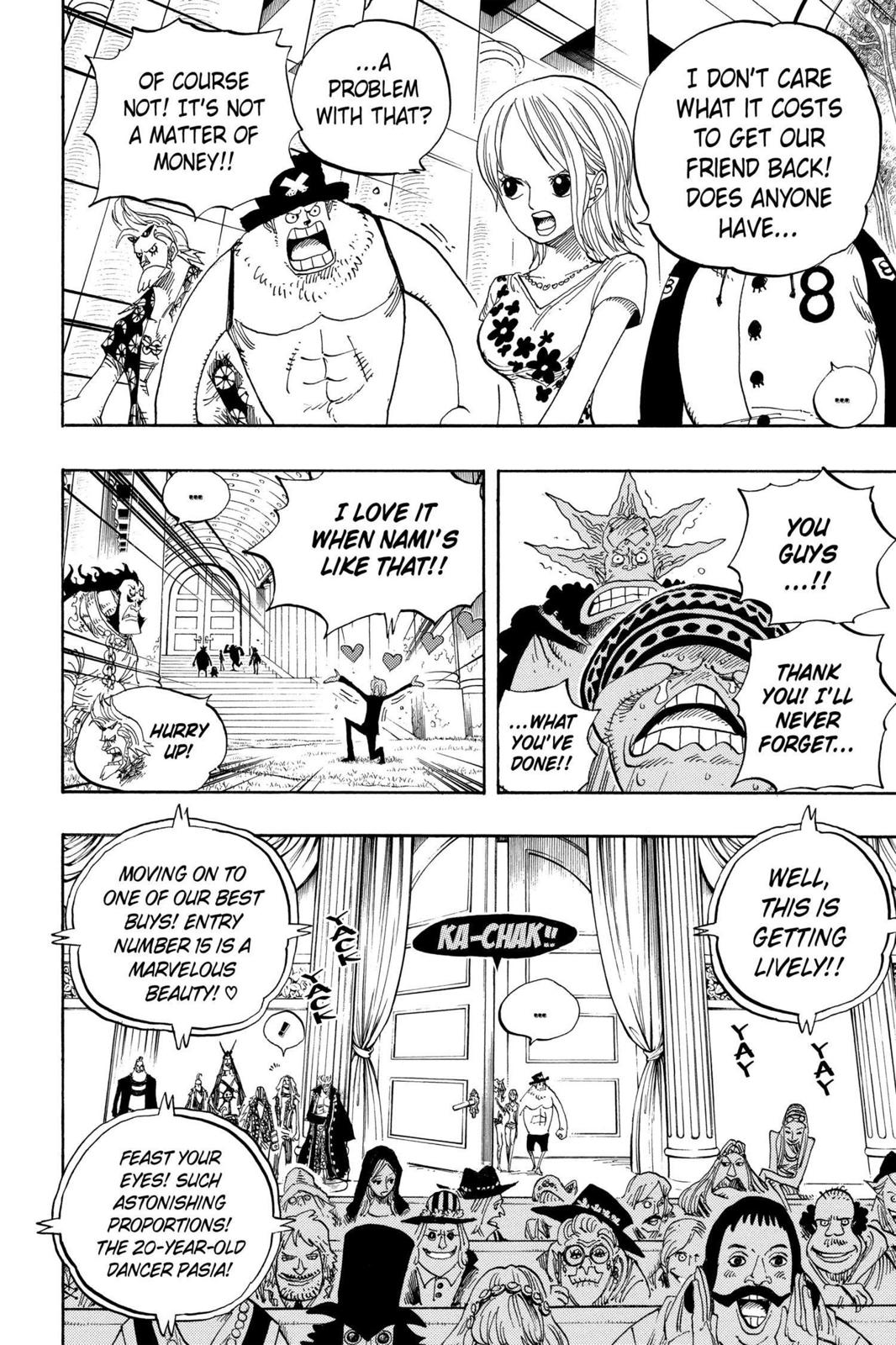 One Piece, Chapter 501 image 015