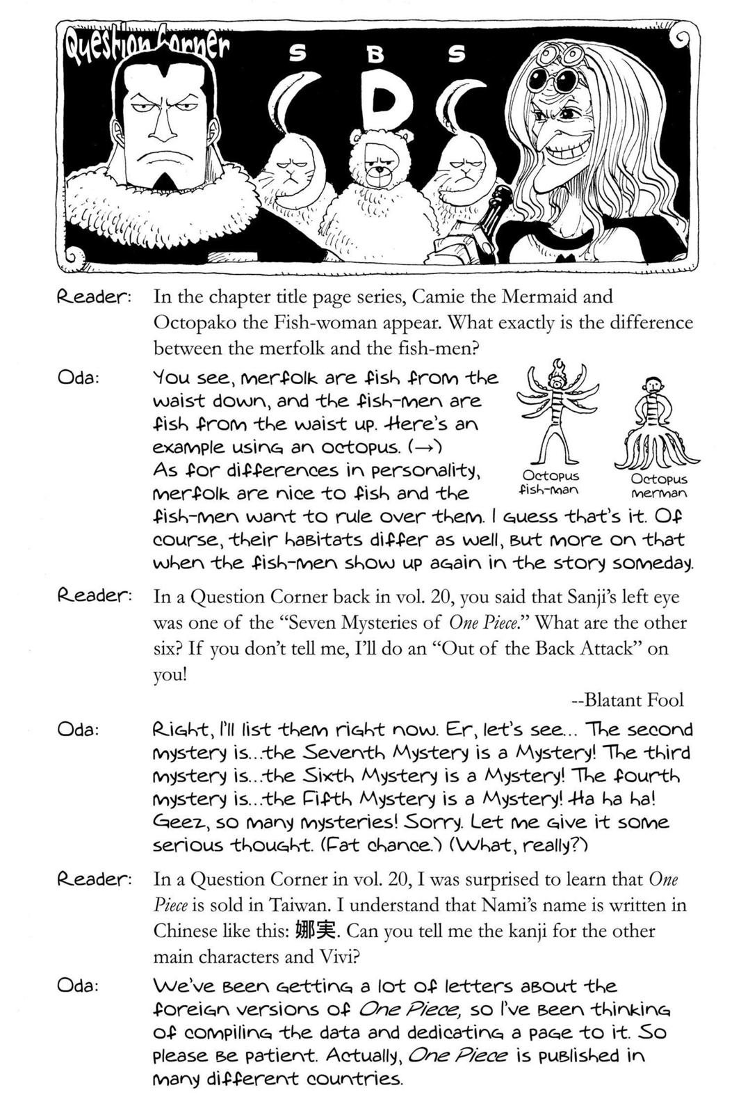 One Piece, Chapter 208 image 019